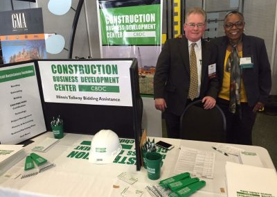 Team Members at Construction Industry Conference